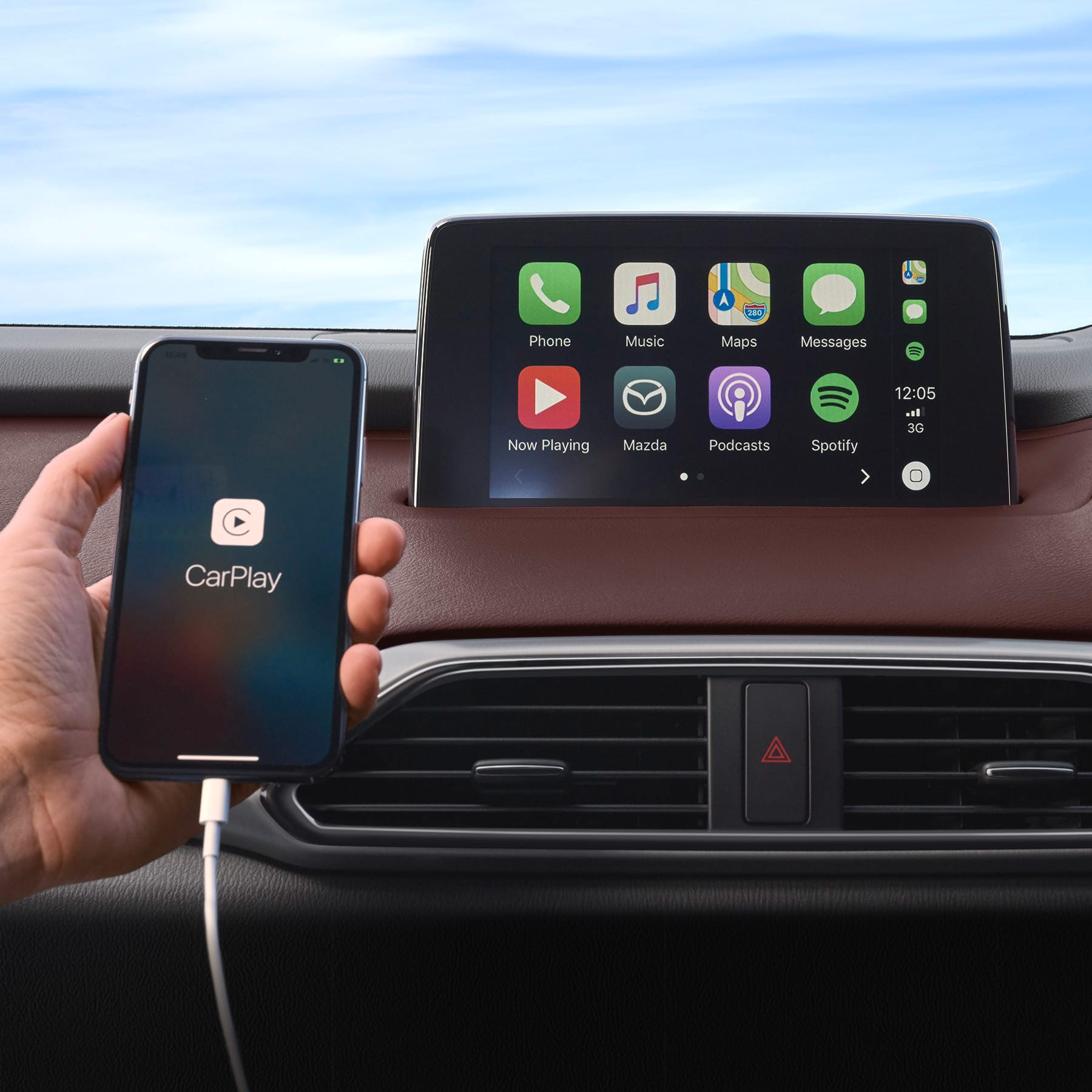 MZD Connect Now with Apple Carplay & Android Auto