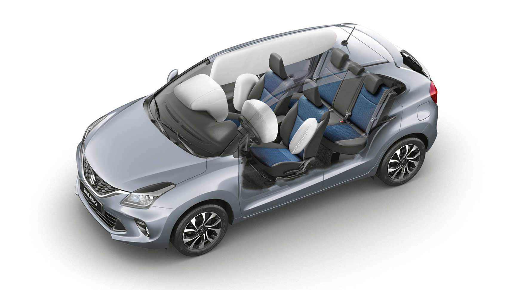 Occupant-protective SRS airbag system