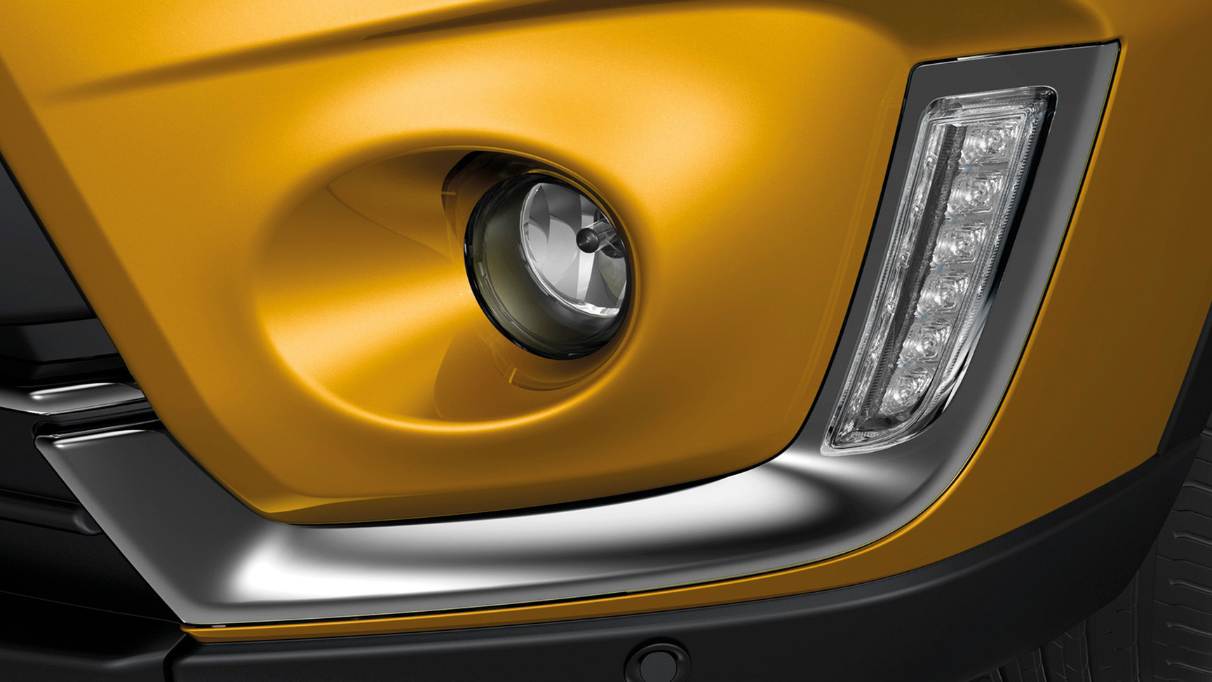 LED daytime running lamps and fog lamps