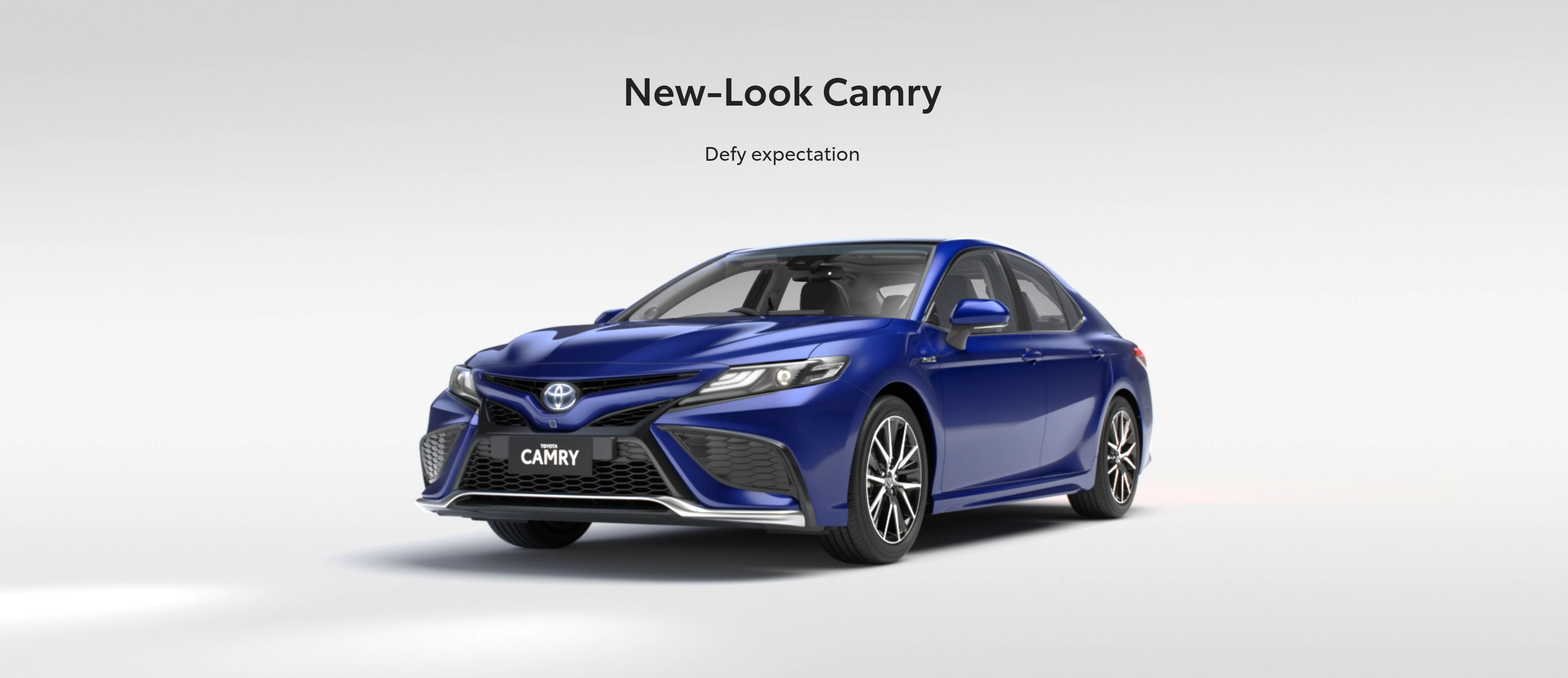 New-Look Camry